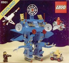 Lego 6951 Robot Command Center: Had this as a kid, tracked it down a few years ago. Lego Space from the mid-80s are still the best sets