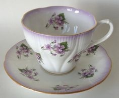 Royal Albert Horizon Series Purple by dishinit on Etsy