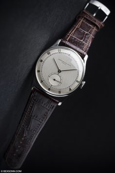 This is one seriously cool 1950s oversized stainless steel @Vacheron1755
