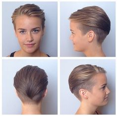 Chic Hairstyles for Short Fine Hair #besthairstyles2015