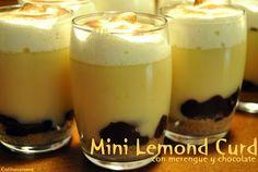 Cocina Varoma: Vasitos Mini Lemond Curd Lemond Curd, Chocolate, Pudding, Banana, Desserts, Food, Mini Desserts, Dulce De Leche, Candy Stations