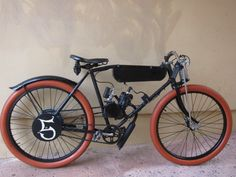 BOARD TRACK RACER motor bike project