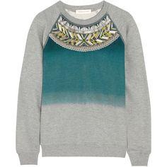 Matthew Williamson Embellished cotton sweatshirt
