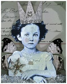 snow queen  by stephanie rubiano, via Flickr