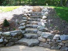 dry laid staircase by Artisan Builders Collective, via Flickr