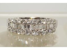 The most widespread of engagement traditions is the groom providing his bride to be with a ring. A lot of regularly, the engagement ring is a diamond ring. However, diamonds are not the only jewels utilized in engagement rings. Baguette Diamond Wedding Band, Baguette Diamond Rings, Wedding Jewelry, Wedding Rings, Gold Wedding, Wedding Yellow, The Bling Ring, Gold Ring, Bling Bling