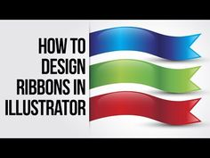How to Create Colorful ribbons in Adobe Illustrator - Deep Tuts