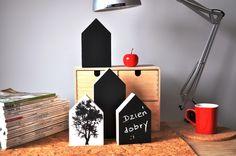 Domki tablicowe w stylu skandynawskim, do nabycia na daWanda, dekoracjezdrewna@op.pl