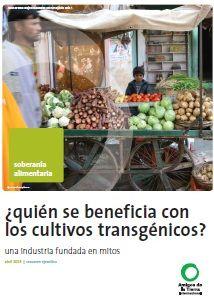 Documento: ¿Quién se beneficia de los Trangénicos? ecoagricultor.com