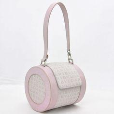 Auth-BVLGARI-Logo-Mania-B-ZERO1-Shoulder-Bag-Pink-10420