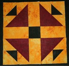 barn quilt patterns | ... : Hen and Chicks - Wisconsin Quilt Blocks on Barns, Block of the Week