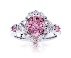 Calleija My Fair Lady Pink Diamond Ring - gorgeous!
