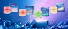 Laneige Lip Mask   18,000won   Image credit: http://www.laneige.com/kr/ko/product/skincare/category/view.lip-sleeping-mask-holiday-limited.all.html   #ShopandBoxKorea #holidaycollection2016