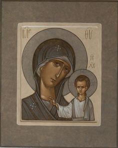 Byzantine Icons, Byzantine Art, Art Icon, Orthodox Icons, My Works, Madonna, Christianity, Religion, Projects To Try