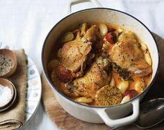 Spanish chicken with chorizo and garlic
