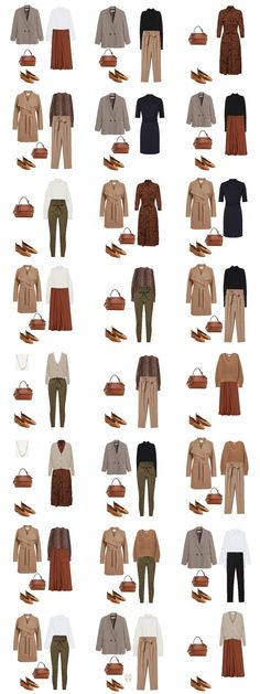 Autumn Capsule Wardrobe 2019 - womenontrend Source by piece dresses fashion capsule wardrobe Capsule Wardrobe Work, Capsule Outfits, Fashion Capsule, Fall Wardrobe, Wardrobe Ideas, Business Casual Outfits, Blouse Outfit, Minimalist Fashion, Work Wear
