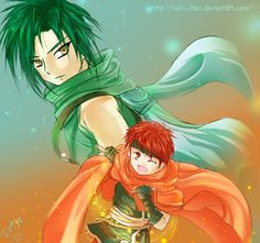 Sothe and Tormod by Rubi-chan on DeviantArt