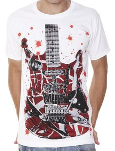 Retreez Rock Music for Life Graphic Printed Men s T-shirt - White -  X-Large  Amazon.co.uk  Clothing bd4d4f43e