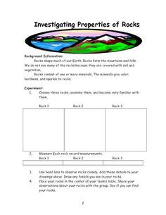 Rocks and Minerals Unit product from Trina Dralus on TeachersPayTeachers.com Rocks and Minerals Science Notebook