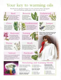 Your key to warming oils