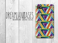 iphone 4, iphone 4s, iphone 5, iphone 5s, iphone 4 case, iphone 4s case, iphone 5 case, iphone 5s case, case, phone case, iphone case, #iphone, #aztec, #tribal, aztec print, tribal print, triangles, triangle by DreamlandCases, $13.00