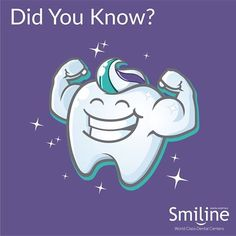 Tooth enamel is the hardest substance in the human body. However, we do not recommend that you use your pearly whites to open bottle caps! #Tooth #Enamel #Whites #Smiline