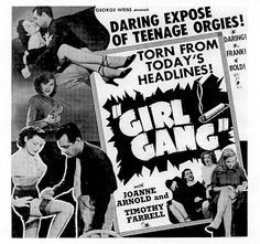 Girl Gang, 1954