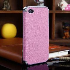 Пластиковый чехол Luxury style Silver Розовый на iPhone 4&4s