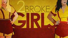 2012 // A sitcom that looks as cheap as its protagonists. Fun nonetheless. 2 Broke Girls, Beth Behrs, Kat Dennings, Max Black, Caroline Channing, Garrett Morris, Girls Tv Series, Whitney Cummings, Girls Season