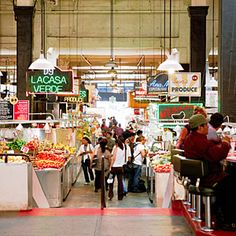 Grand Central Market attraction - Los Angeles, CA