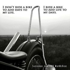 Truth! I pulled my girl out of the garage yesterday...froze my keester, but it was EXHILARATING!