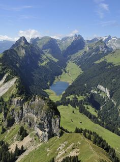 In sweeping Appenzell, Switzerland. Places Around The World, The Places Youll Go, Places To See, Around The Worlds, Austria Travel, Germany Travel, La Provence France, Beautiful World, Beautiful Places