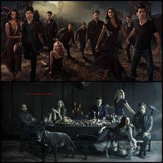 fotos promocionales de 'The Vampire Diaries' y 'The Originals