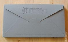 Envelope box packaging.