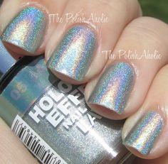 Layla Hologram Effect Jade Groove