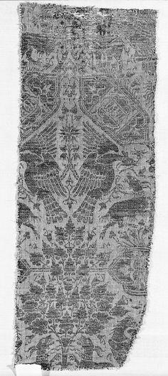 Brocade, silk late 14th century