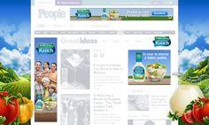 THE CLOROX COMPANY Hidden Valley : Ranch Para el lanzamiento de este nuevo producto de Clorox, diseñamos una campaña digital íntegramente desarrollada con los últimos standards de HTML5. ver demo: www.e-zense.com/portfolio/the_clorox_company/hidden-valley/ranch/HTML5_Banners