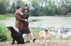 Couple Recreates Scene From 101 Dalmatians For Their Engagement Photos