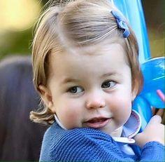 Princess Charlotte is so cute!!!