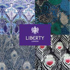 Liberty chéris !!!!!  Nos cotons imprimés sont des tissus de la célèbre marque Liberty of London, réputée pour ses étoffes de qualité et ses imprimés uniques.  #eglantineetzoe #DIY #libertyoflondon #coton #couture #sewing
