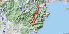 [Alpes-Maritimes] Esterel - Infernet depuis Mandelieu 3,5 km de montée jusqu'au col des 3 termes: d'abord par le chemin à droite de la barrière sur la route forestière (fermée), puis par la route, pour profiter ensuite de 10km de descente !!. A la fin de la piste, prendre à gauche sur une deuxième route forestière pour terminer ces 10km de descente. Puis au col de la belle barbe prendre le chemin à gauche (en face du parking). Désolé, il va falloir tout remonter ! , mais heureusement par le…