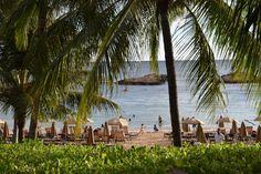 Beach at Aulani Resort in Oahu...Resort ideas for Oahu at tikesintow.com