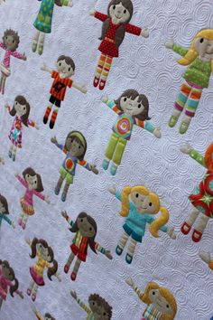 Do I foresee a future quilt idea for Helena's 5th grade teacher?