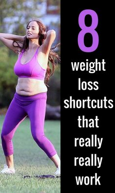 Here are 8 get-fit-quick tricks will actually help you slim down and are also totally, 100 per cent safe.