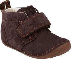 178b720ecb Clarks Tiny Hero Boot in Brown Suede. Clarks Desert Boot, Desert Boots,  Cute. Little Feet Childrens Shoes