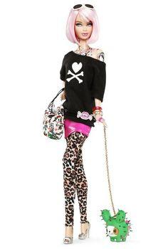 Tokidoki Barbie: a Barbie with tattoos.  Gotta love it! http://bit.ly/HKUuFy