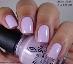 China Glaze City Flourish Collection Spring 2014 – In A Lily Bit