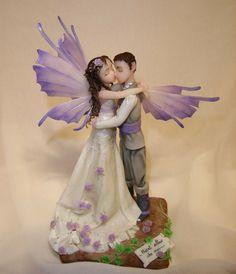La Bottega delle Fate: fairy cake topper in cold porcelain