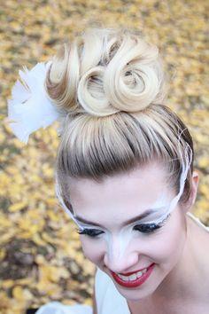 hair & makeup white swan