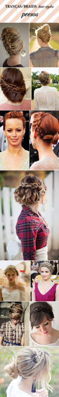 I love braided hairstyles. I cannot wait for my hair to be long enough to do this!